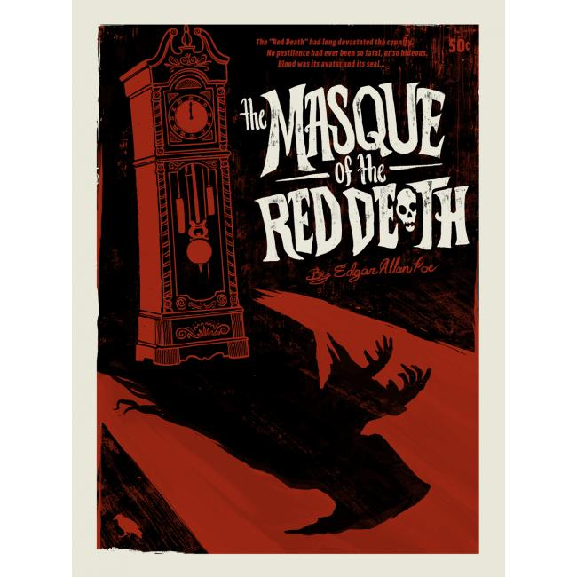 The Masque of the Red Death by Edgar Allen Poe $6.00